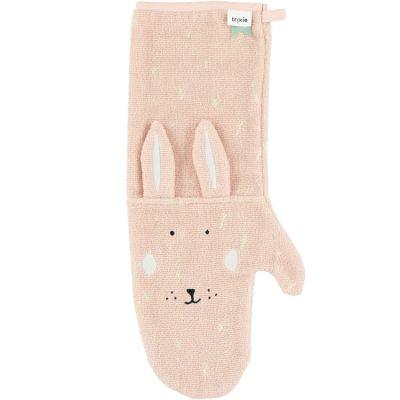 Gant de douche bébé lapin Mrs. Rabbit  par Trixie