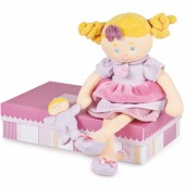 Les demoiselles gourmandise rose (41 cm) - Doudou et Compagnie
