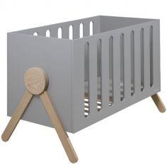 Lit bébé Swing gris (60 x 120 cm)