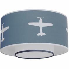 Abat-jour Airplane gris bleu