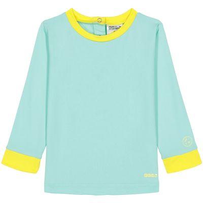 Tee-shirt manches longues anti-UV Pop green (12 mois)  par KI et LA