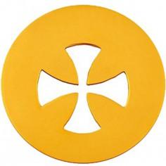 Médaille Signes Croix égale 16 mm (or jaune 750°)