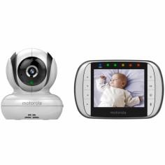 Moniteur bébé 360° avec écran LCD 3,5'' (modèle MBP36S)
