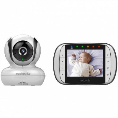 Moniteur bébé 360° avec écran LCD 3,5'' (modèle MBP36S)  par Motorola