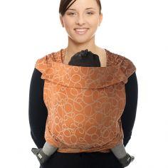 Porte bébé chinois BB-Tai Jacquard coton bio orange
