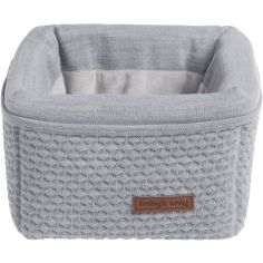 Panier de toilette gris Cloud