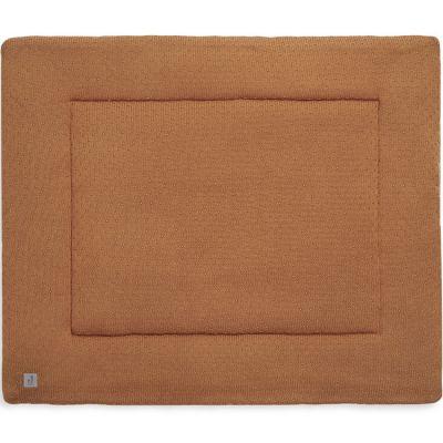 Tapis de jeu Bliss knit caramel (80 x 100 cm)  par Jollein