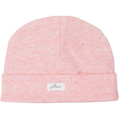 Bonnet en coton Speckled rose  par Jollein