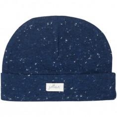 Bonnet de naissance Speckled bleu