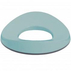 Réducteur de toilette vert d'eau