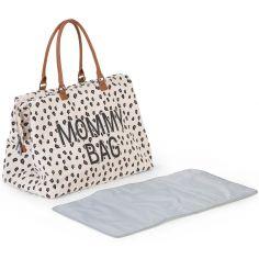 Sac à langer à anses Mommy bag large Canvas leopard