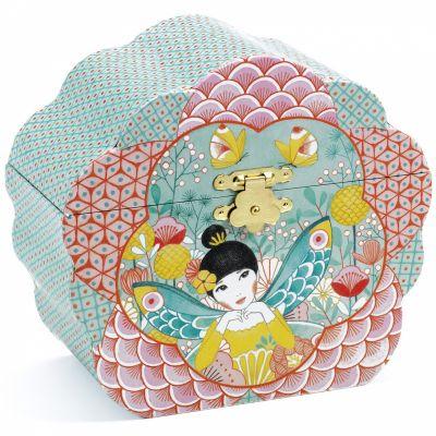 Boîte à bijoux musicale Mélodie fleurie  par Djeco