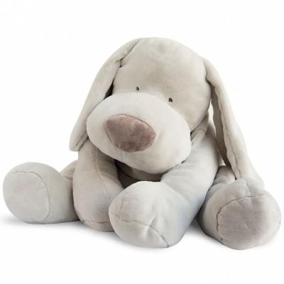 Peluche géante chien beige (70 cm) Doudou et Compagnie