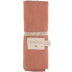 Lange en coton bio Toffee (70 x 70 cm)