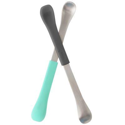 Lot de 2 cuillères 2 en 1 Swap bleu et vert  par Boon