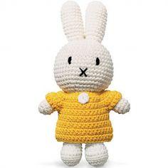 Peluche Miffy jaune (25 cm)