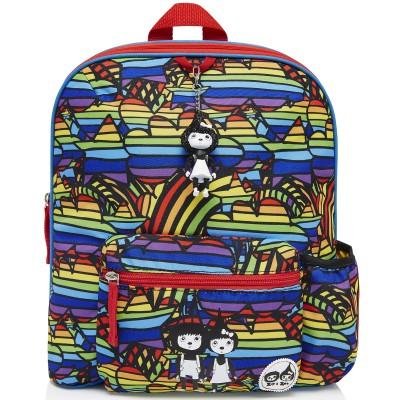 Sac à dos enfant Rainbow multicolore  par Zip & Zoé