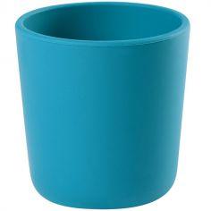 Gobelet en silicone bleu