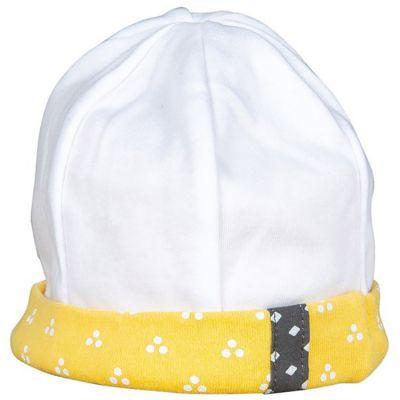 Bonnet de naissance Pluche et Pompon  par Sauthon