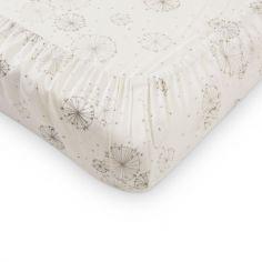 Housse de matelas à langer Dandelion écru (50 x 65 cm)