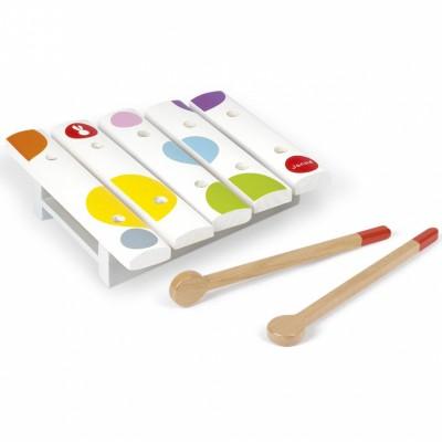 Mini xylophone en bois Confetti  par Janod