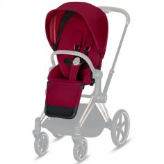 Assise pour poussette Priam et e-Priam True Red