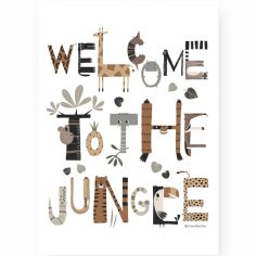 Affiche A3 Welcome to the Jungle