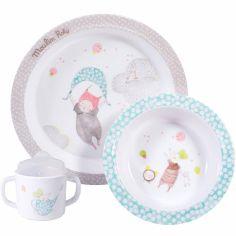 Coffret repas Les Petits dodos (3 pièces)