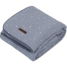 Couverture de lit pure & soft Little stars blue (110 x 140 cm)