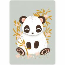 Carte A6 carte les Animignons le panda   par Kanzilue