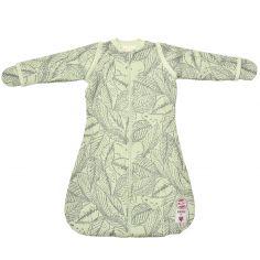 Gigoteuse chaude à manches et moufles Botanimal vert clair TOG 2,3 (50-62 cm)
