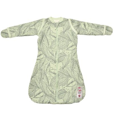 gigoteuse chaude manches et moufles botanimal vert clair tog 2 3 50 62 cm par lodger. Black Bedroom Furniture Sets. Home Design Ideas