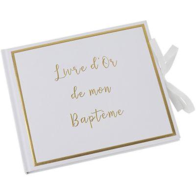 Livre d'or de mon baptême (64 pages)  par Arty Fêtes Factory