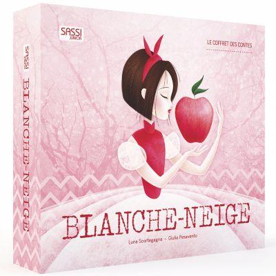 Coffret livre + personnages Blanche-Neige (Le Coffret des Contes) Sassi Junior