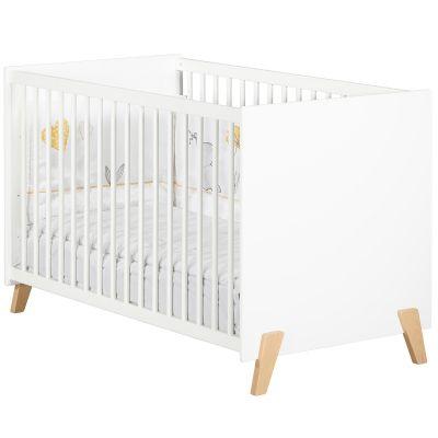 Lit à barreaux Joy naturel (60 x 120 cm)  par Baby Price