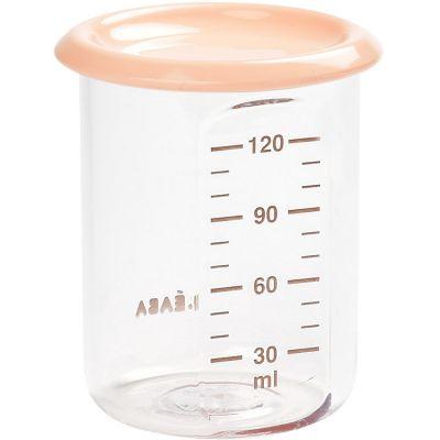 Pot de conservation Baby portion rose nude (120 ml) Béaba