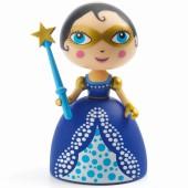 Poupée de plastique Princesse Fairy blue (11 cm) - Djeco