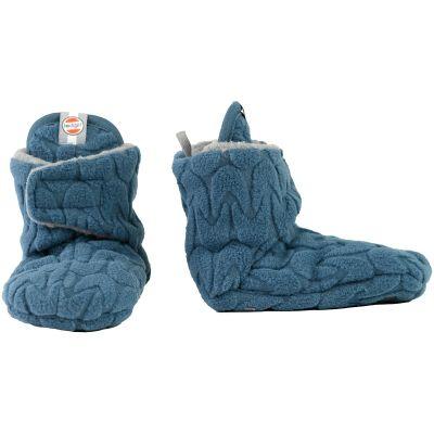 Chaussons bleu Slipper Empire (0-3 mois)  par Lodger