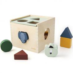 Boîte à formes en bois Animaux