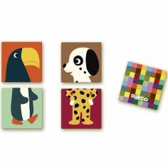 Jeu de memory Mémo puzzle animaux