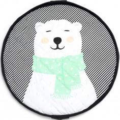 Tapis de jeu nomade 2 en 1 Ours polaire
