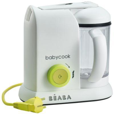 Robot cuiseur Babycook Solo néon Béaba