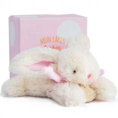 Coffret peluche lapin rose Bonbon (16 cm)