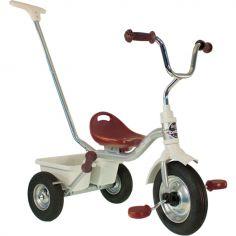 Tricycle Racing Hockenheim avec panier arrière  gris