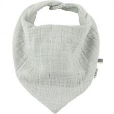 Bavoir bandana Bliss gris