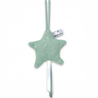 Etoile décorative à suspendre Cable Uni vert menthe  par Baby's Only
