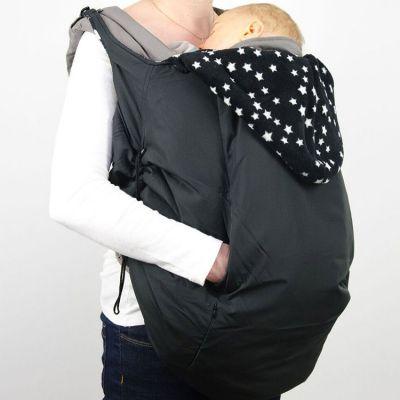 Couverture de portage pour porte-bébé étoile noir  par Lucky
