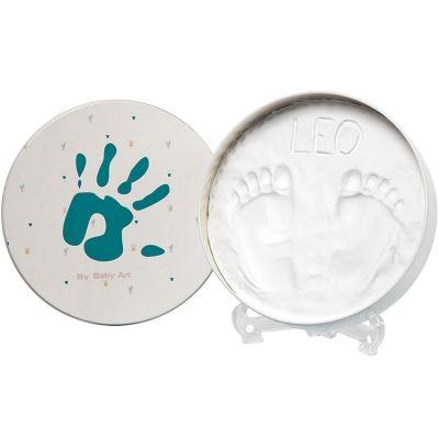 Boîte d'empreintes Magic box originale ronde  par Baby Art