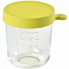 Pot de conservation Portion verre néon (250 ml)