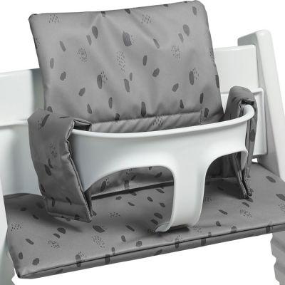 Assise pour chaise haute Stokke Tripp Trapp Spot storm grey grise  par Jollein